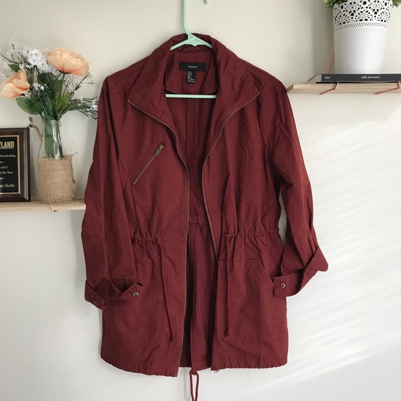 Forever 21 Jackets & Blazers - Cool utility jacket